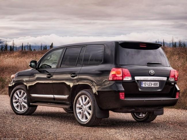 Обновленный Toyota Land Cruiser 2013