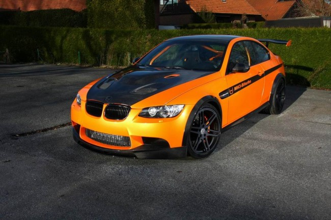 Manhart MH3 V8 RS Clubsport на базе BMW M3 E92