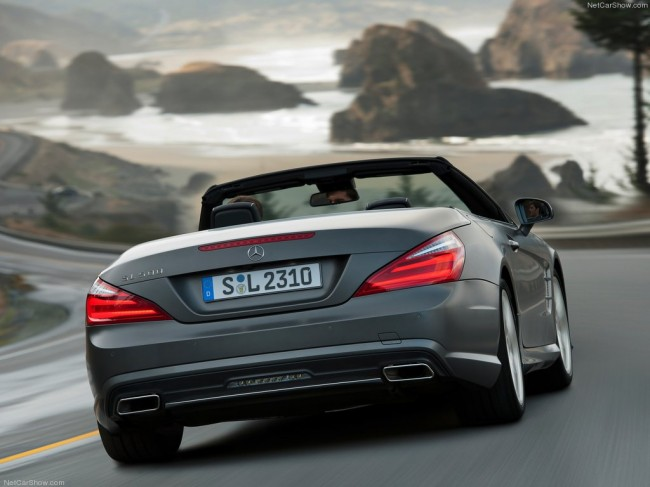 Mercedes-Benz SL 500 2015 фото