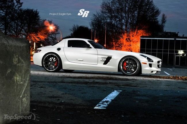 Фото Mercedes SLS AMG Eagle Eye