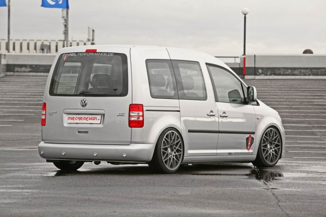 Тюнинговый VW Caddy от MR Car Design