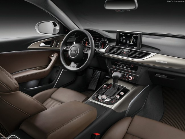 Audi a6 allroad quatto c7 for Interieur audi a6