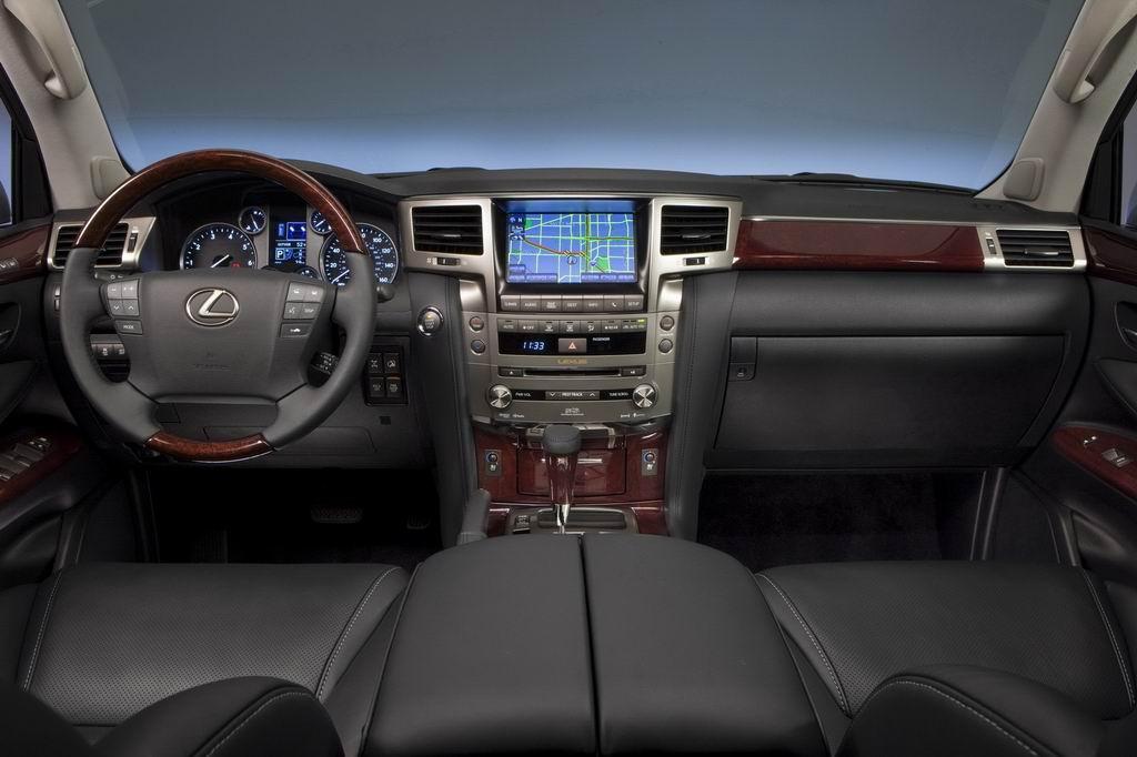 Фото салона Lexus Lx 570