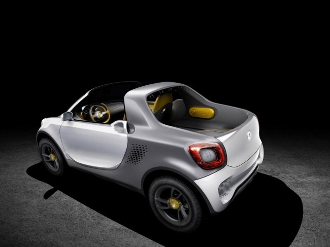 Фото Smart for-us Urban Pickup Concept