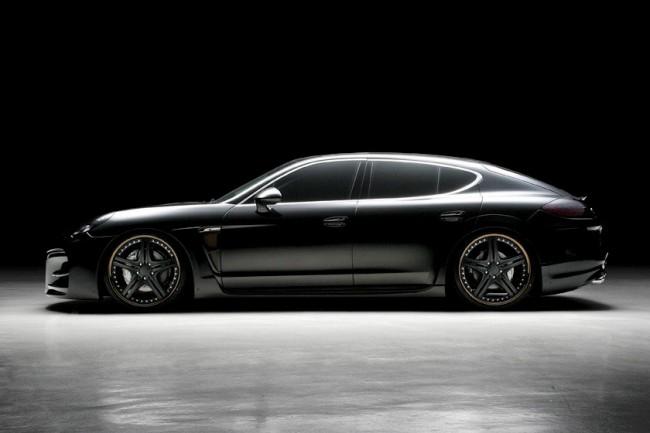 Porsche Panamera в обвесе от WALD фото
