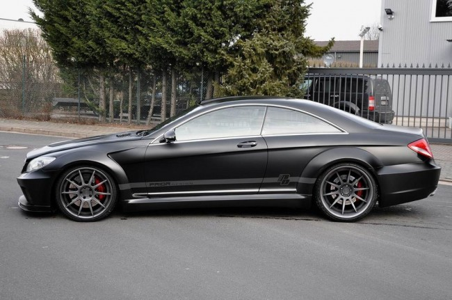 Mercedes CL Black Edition фото