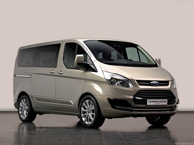 Ford представил Tourneo Custom Concept