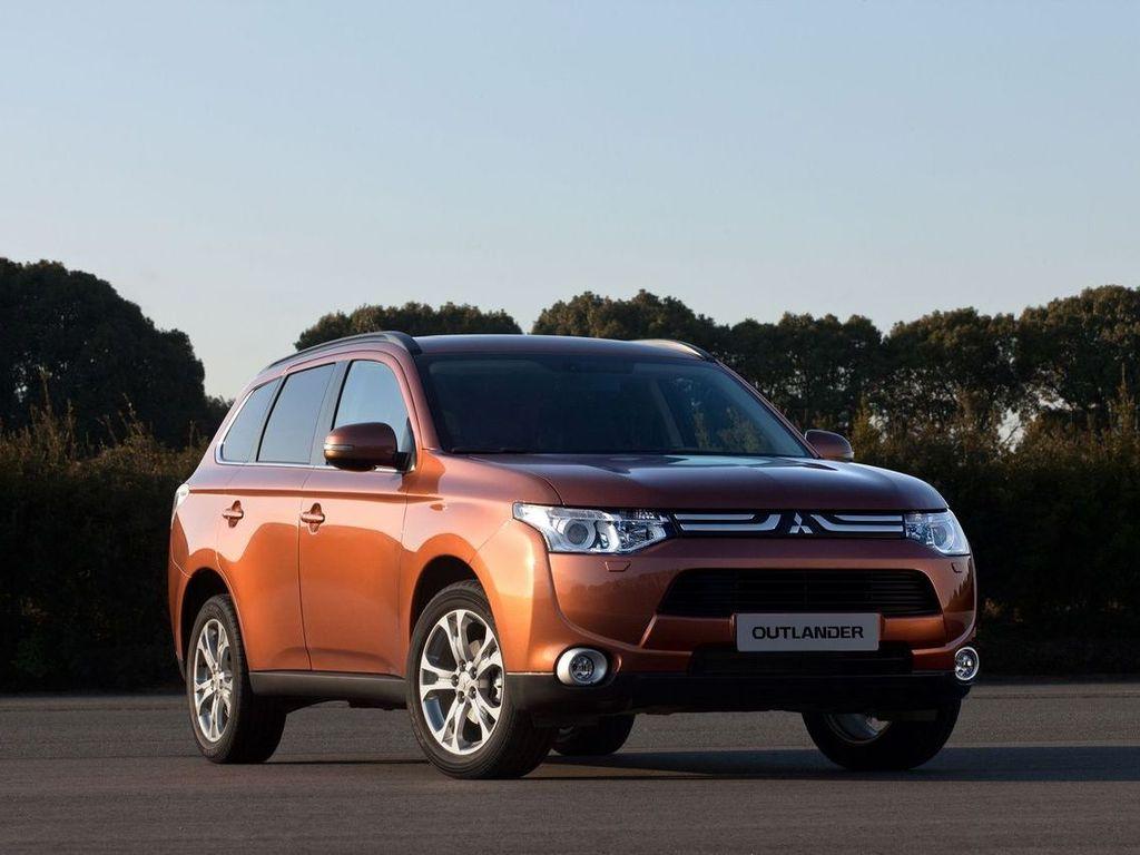 Mitsubishi outlander 2012 фото