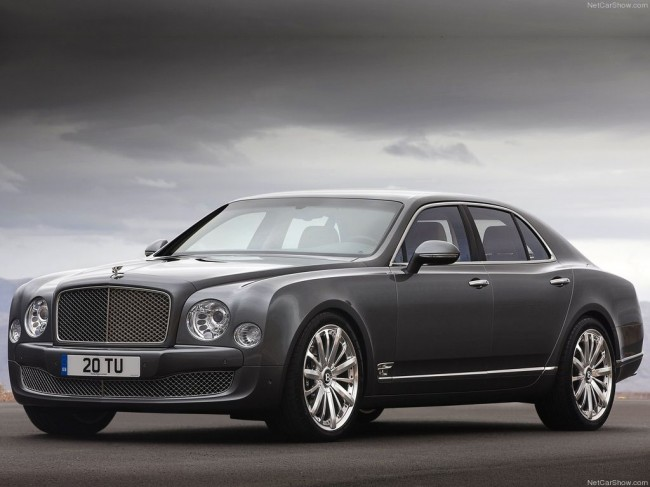 Bentley Mulsanne Mulliner фото