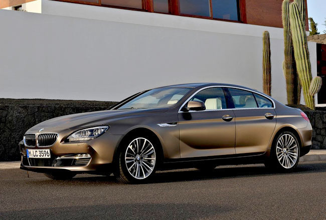 Названы цены на BMW 6-Series Gran Coupe