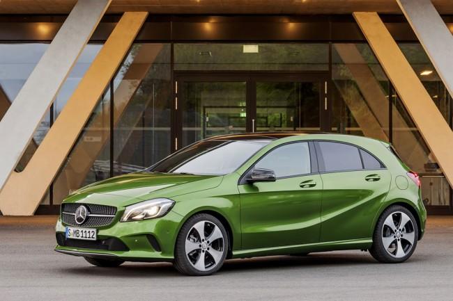 Новый Mercedes A-Class W176