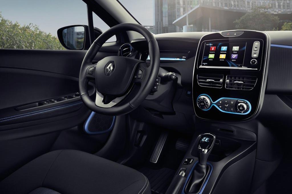 Новый Renault ZOE фото.