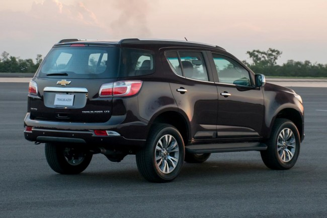 Chevrolet Trailblazer 2018 в новом кузове