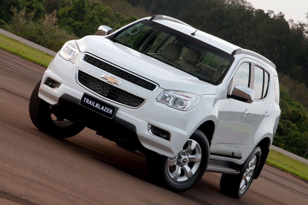 конкуренты chevrolet trailblazer 2014