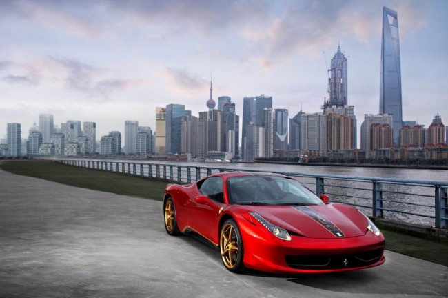 Спецверсия 458 Italia China 20th Anniversary Edition