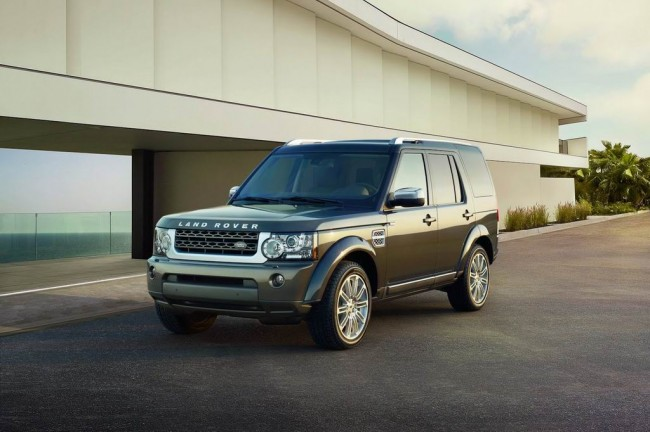 Land Rover Discovery 4 Luxury Edition