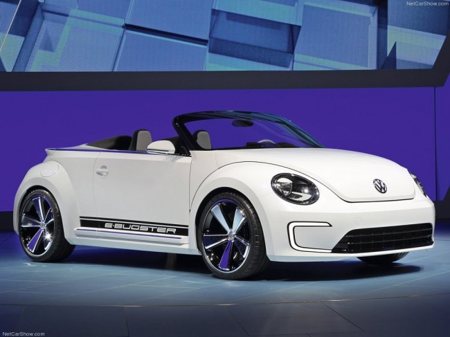 VW E-Bugster Speedster Concept фото