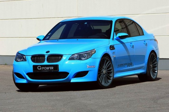 G-Power BMW M5 E60 Hurricane RRs
