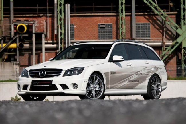 Mercedes C63 AMG Estate от ателье Edo Competition