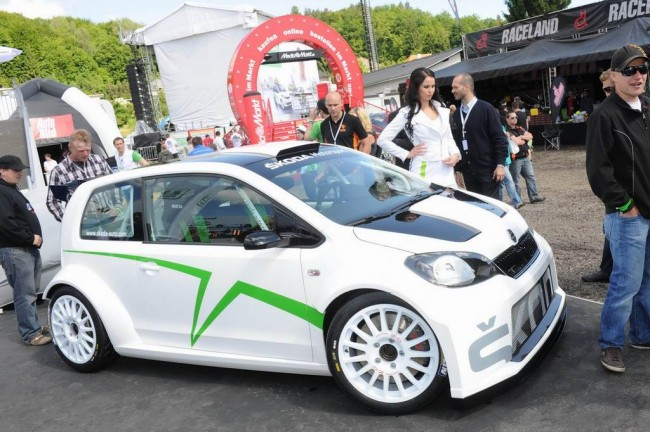 Skoda Citigo Rally Car Concept
