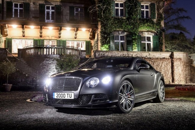 Bentley Continental GT Speed 2017 фото