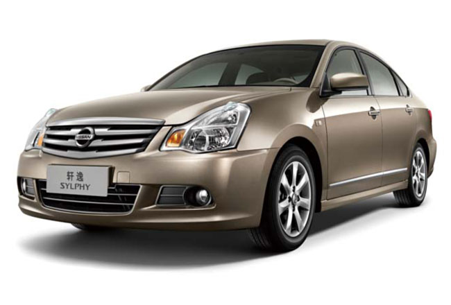 Фото седана Nissan Bluebird Sylphy