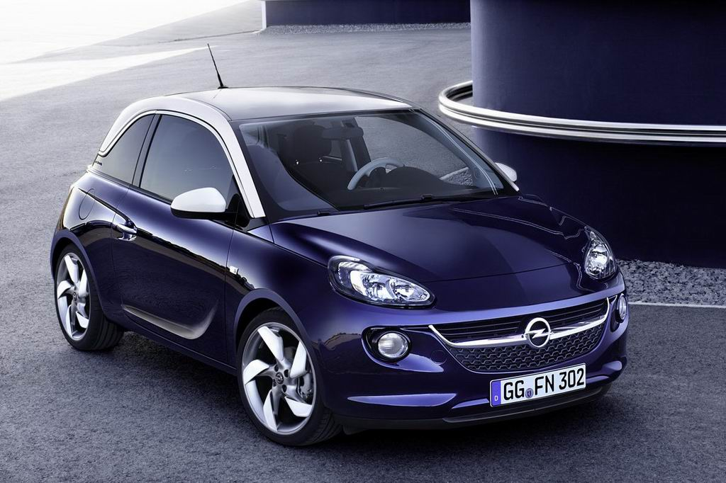 opel adam 2014. Black Bedroom Furniture Sets. Home Design Ideas
