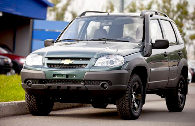 Фото Chevrolet Niva LE (Limited Edition)
