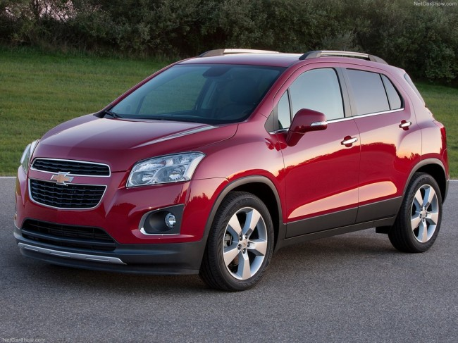 foto chevrolet tracker 2013 01 650x487 2013 Chevrolet Tracker   SUV debuted in Paris