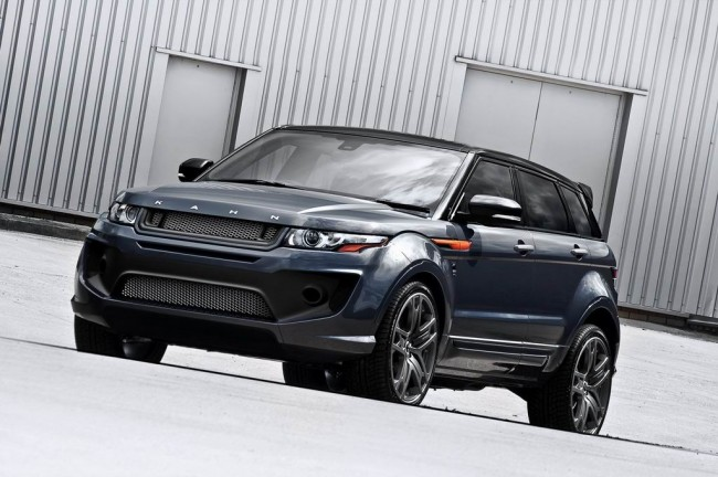 Range Rover Evoque RS250 Dark Tungsten Metallic Edition