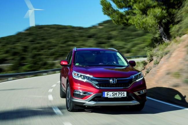 хонда срв 2017 в новом кузове фото