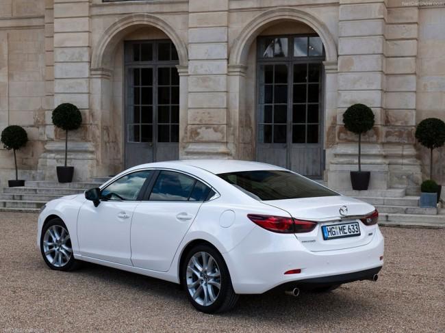 Новая Mazda 6 2013 фото