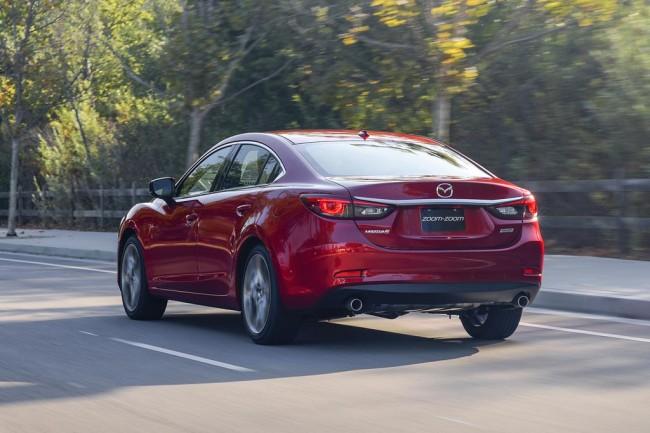 Обновленная Mazda 6 2017