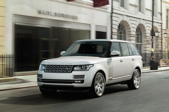 Удлиненный Range Rover Long