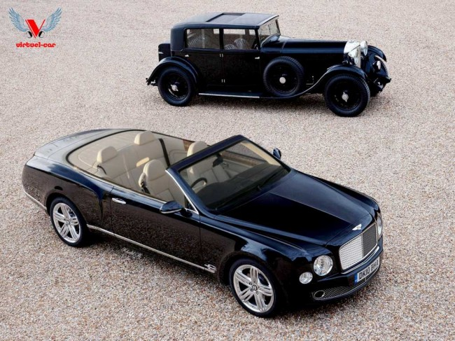 Рендер Bentley Mulsanne Convertible