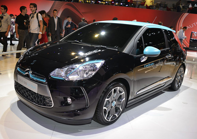 Фото Citroen DS3 Electrum Concept