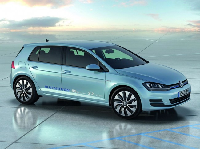 Новый VW Golf 7 BlueMotion фото
