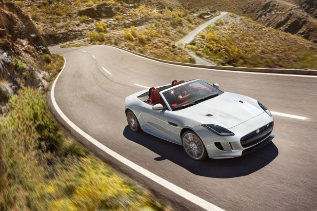 Обновленный Jaguar F-Type Roadster 2016