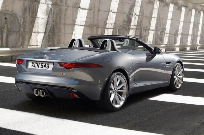 Jaguar F-Type Roadster 2017 фото