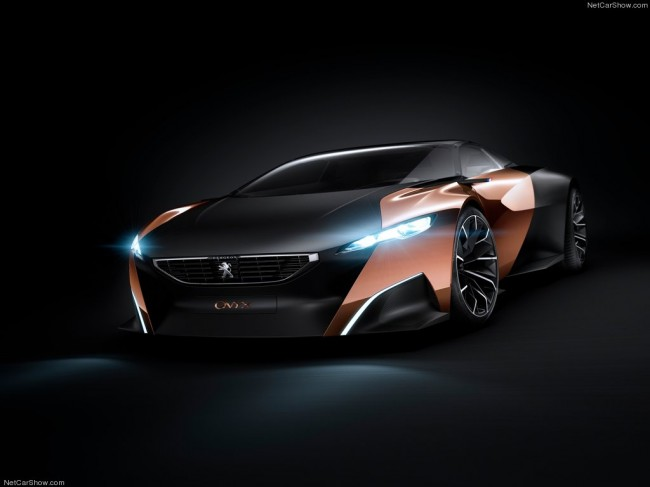электромобиль концепт кар пежо оникс