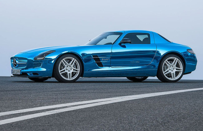 Фото Mercedes SLS AMG Coupe Electric Drive