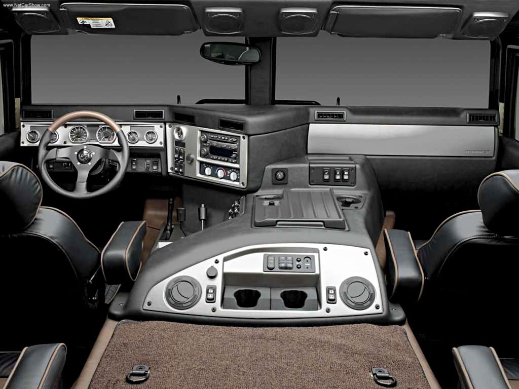 Фото Hummer H1 SUV.