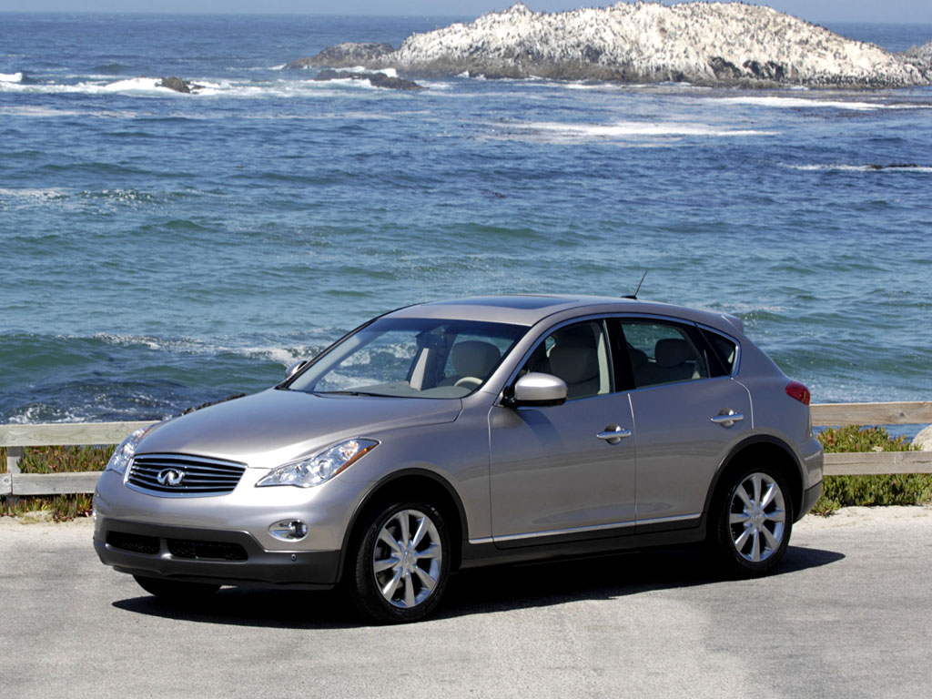 Infiniti EX 35 3.5i V6 4WD (302  ) Technical specifications and fuel