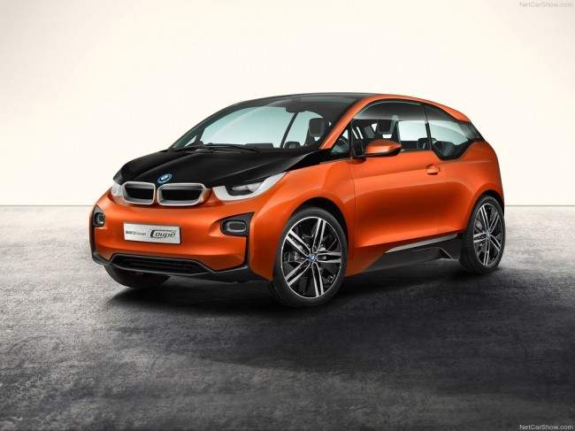 Фото BMW i3 Concept Coupe