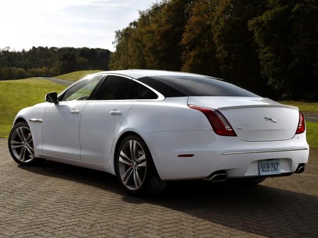 Машина jaguar xj