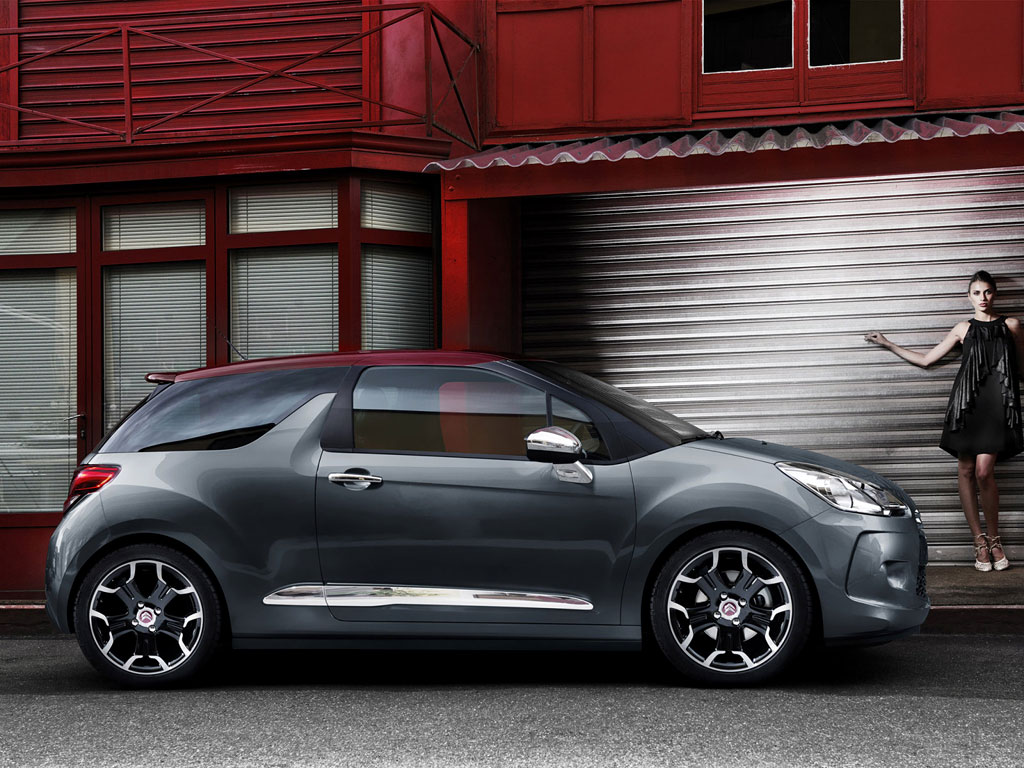 2009 Citroen DS3 wallpapers.