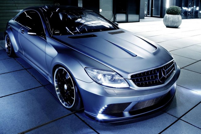 Mercedes CL 63 AMG от тюнинг ателье Famous Parts