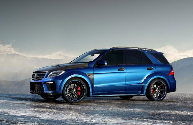Mercedes ML 63 AMG Inferno от ателье TopCar
