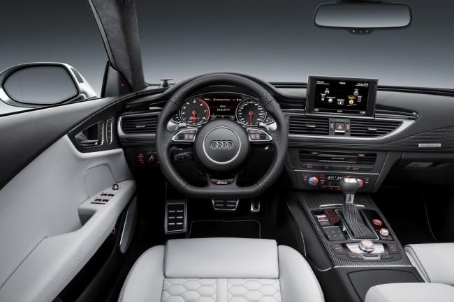 Салон Ауди RS7 Sportback