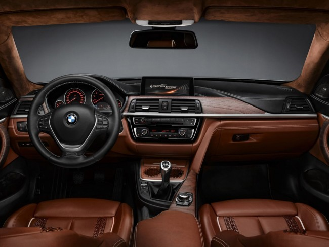 Интерьер BMW 4-Series Coupe Concept